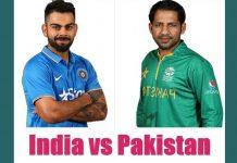 india vs pakistan captain