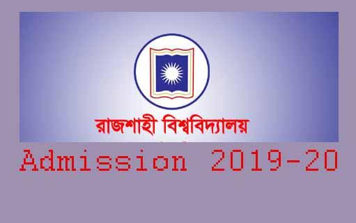 www.ru.ac.bd admission 2019-20